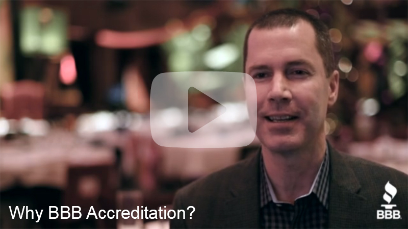 Why BBB Accreditation?